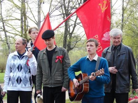 Помнить – значит бороться! В Питере прошла акция антифашистов (фоторепортаж)